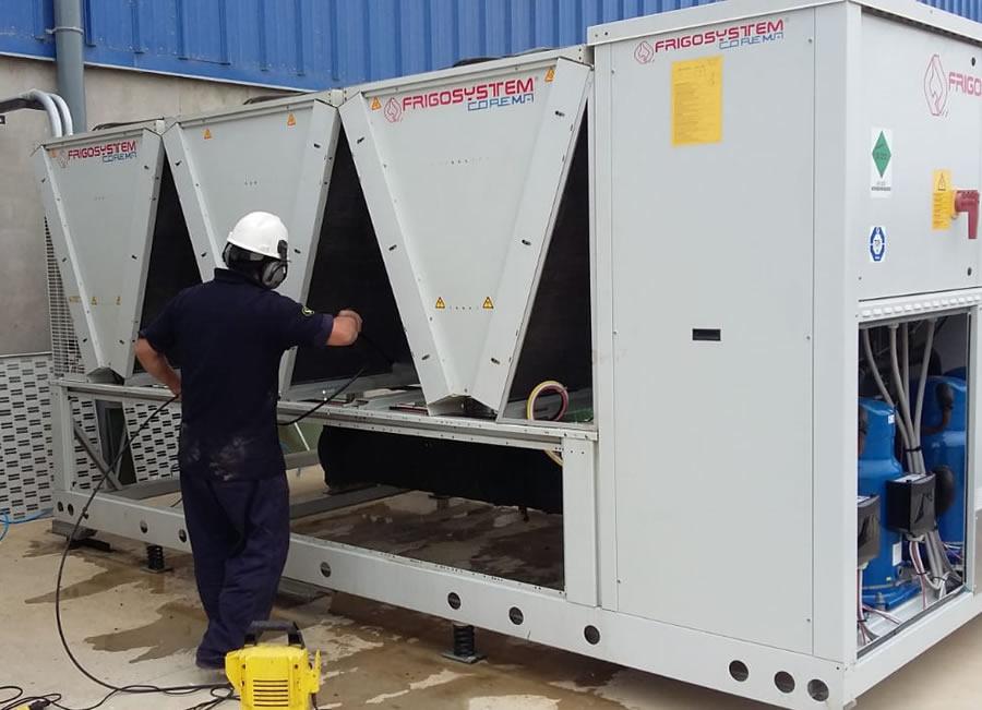 servicios instalacion, reparacion y mantenimiento de chillers y compresores de aire
