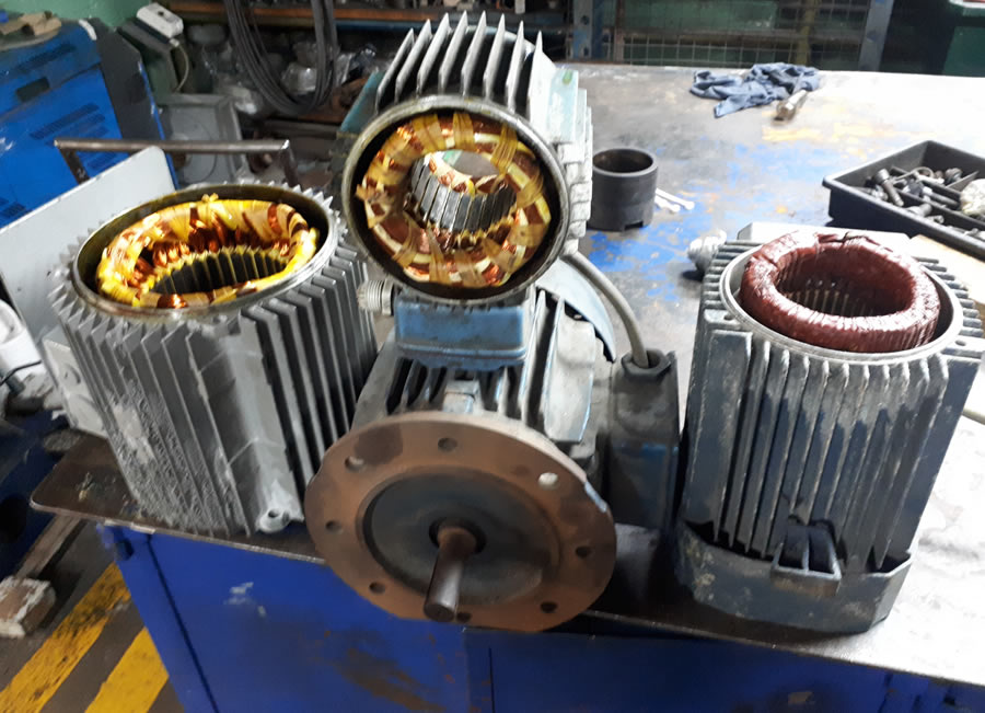 servicios reparacion y mentenimiento de motores.electricos
